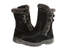 Women's SPRING STEP ACHIEVE Winter Lined Waterproof Boots BLACK