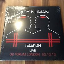 Gary Numan Telekon - Live At The Forum (Picture Disc) (Signed) Double Heavy LP