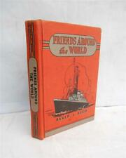 """1938 Baker & Reed """"Friends Around The World"""" Curriculum Readers #3,Illustrated"""
