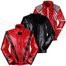 Michael Jackson Billie Jean/Beat It/Thriller Jacket Costumes Unisex Adults Child