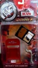 WWF Raw Unchained Fury Ric Flair Ring Leader Kit Action Figure Accessories NIB