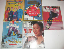 "Sports Illustrated 1992 Winter OLYMPICS ""American Dream"" Kristi Yamaguchi cover"