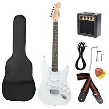 Electric Guitar Basswood Body Maple Neck with Guitar Amplifier Gig Bag M7U1