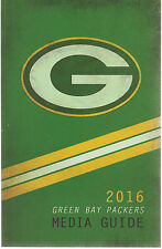 2016 Green Bay Packers media guide