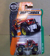 MATCHBOX, MBX 4X4 IN RED 105/125
