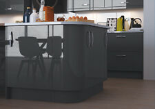 NEW HIGH GLOSS VIVO ANTHRACITE kitchen doors and drawer fronts