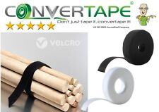 VELCRO® Brand ONE-WRAP® Hook & Loop Double Sided Strapping Black