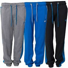Mens Casual Sports Active Wear Sweat Pants Jogging Cuffed Bottoms Sizes S - XXL