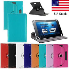 Universal Leather Folding Stand Flip Case Cover For 10'' inch Android Tablet PC