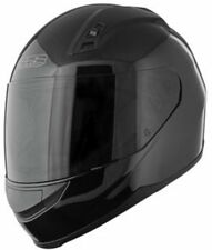Speed and Strength SS 700 Gloss Black Full Face Helmet Clear Shield