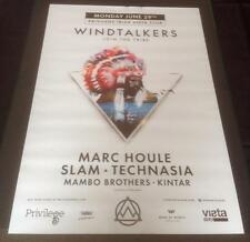WINDTALKERS @ PRIVILEGE - IBIZA CLUB POSTERS 2015 -TECHNO HOUSE MUSIC DANCE