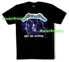 METALLICA T-Shirt Black Sz M L XL RIDE THE LIGHTNING HARDROCK HM SKELETON CHAIR