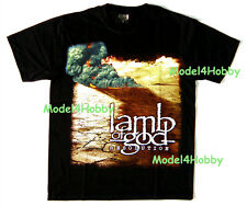 LAMB OF GOD T-Shirt Black Size M, L, XL RESOLUTION BAND HEAVY METAL GROOVE METAL