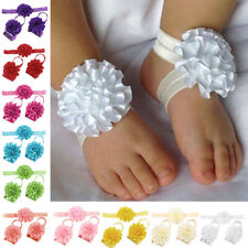 Cute Chiffon Baby Girls Flower Headband Soft Elastic Hairband Hair Accessories