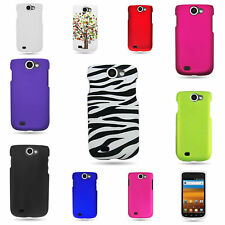 For Samsung Exhibit 2 4G - Hard Plastic Matte Rubber / Design Phone Cover Cases