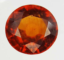 HESSONITE GARNET Natural Round Loose Ring Stones Vedic Astrology Gem of Rahu-Q