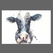 JEN BUCKLEY signed LIMITED EDITON PRINT of my original Friesian Cow