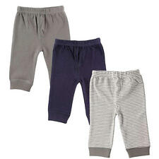 Luvable Friends Boy 3-Pack Blue/Grey Tapered Ankle Pants