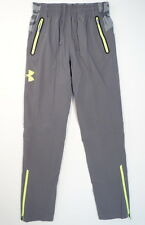 Under Armour UA Combine Training Storm Tundra Gray Woven Pants Mens NWT