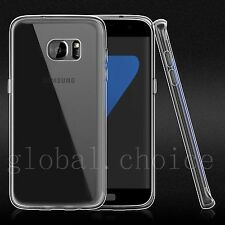 Ultra Thin Soft Silicone Case Cover Screen Protector for Samsung Galaxy S7 Edge