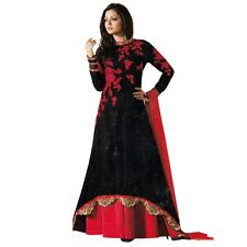 Designer Anarkali Full Length Salwar Kameez Suit Bollywood Dress India-LT-99003