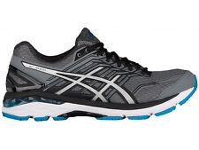NEW MENS ASICS GT-2000 V5 GEL RUNNING SHOES TRAINERS CARBON / SILVER 2E-WIDE