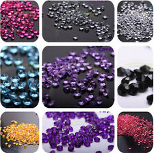 5000pcs Diamond Confetti Table Scatters Clear 4.5mm Wedding Party Decoration 5