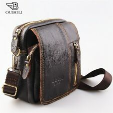 100% genuine leather men bag fashion designer crossbody bags design men bag cowh