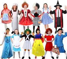 GIRLS BOOK CHARACTER COSTUMES FAIRYTALE WORLD BOOK DAY CHILDS FANCY DRESS OUTFIT