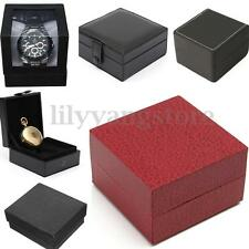 Bangle Jewelry Ring Earrings Wrist Watch Box Present Gift Boxes Case