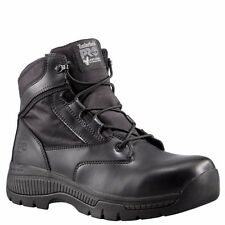 "TIMBERLAND PRO Men's 1162A001 6"" Valor Black Smooth Soft Toe Work Boots"