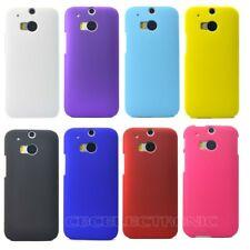 1x New Rubberized Matte Snap on Hard case cover for HTC One 2 II M8