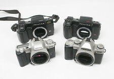LOT OF FOUR PENTAX AF BODIES, NON-WORKING, SOLD AS-IS FOR PARTS/165309