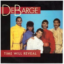 """DEBARGE Time Will Reveal 7"""" VINYL UK Gordy 1984 B/w I'll Never Fall In Love"""