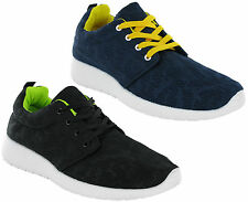 Mens Running Trainers Knit Jogging Sports Lace Up Fitness Gym Sneakers UK6-11