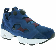 NEW Reebok Classic Instapump Fury Heavy Knit Pack Women's Sneaker-blue AR2533