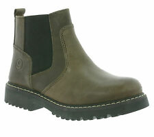 NEW giggs Chelsea Shoes Children Leather ankle Boots Boots Brown 125487 700
