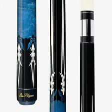 BLUE G-2218 PLAYERS Two Piece Pool Billiard Table Cue Stick & FREE 1x1 Soft Case