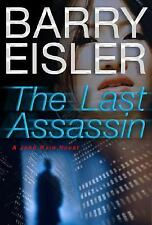 Barry Eisler~THE LAST ASSASSIN~SIGNED 1ST/DJ~NICE COPY
