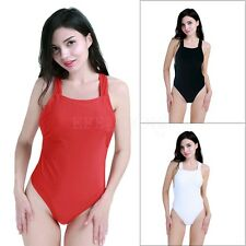 Women's One-Piece Swimsuit Padded Bikini Swimwear Bathing Monokini Sexy Bikini