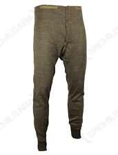 ORIGINAL WW2 FRENCH LONG JOHNS - Genuine Trousers Pants Underlayers Thermals