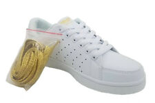 Ladies Sport Shoes Aerosport Strike Runners/Sneakers White/Gold Size 5-11 New