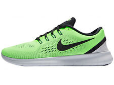MENS NIKE FREE RN RUN RUNNING SHOES TRAINERS GHOST GREEN / BLUE MOON / PURE PLAT