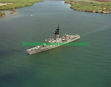 USN Frigate USS BREWTON FF-1086 Color Photo Military 1986 FF 1086 Ship