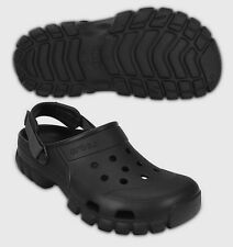 $45 Crocs OFF ROAD Sport Clog BLACK / GRAPHITE All Size SALE!!!