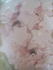 Light Baby Pastel Pink Plastic Star Shape Weights 5,10,25,50,100, Balloon, Party