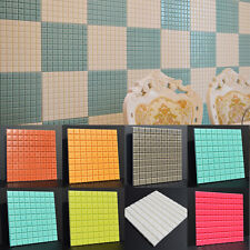 Mosaic Tile Self-adhensive Wall Paper Kitchen Backsplash Bathroom Wall Stickers