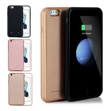 Backup External Portable Charger Battery Power Cover Case For iPhone 7 Plus 6 6S