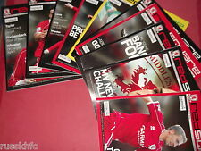 2007/08 MIDDLESBROUGH HOME PROGRAMMES CHOOSE FROM