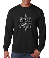 There Is No Place Like Home Cotton Long Sleeve T-Shirt Tee